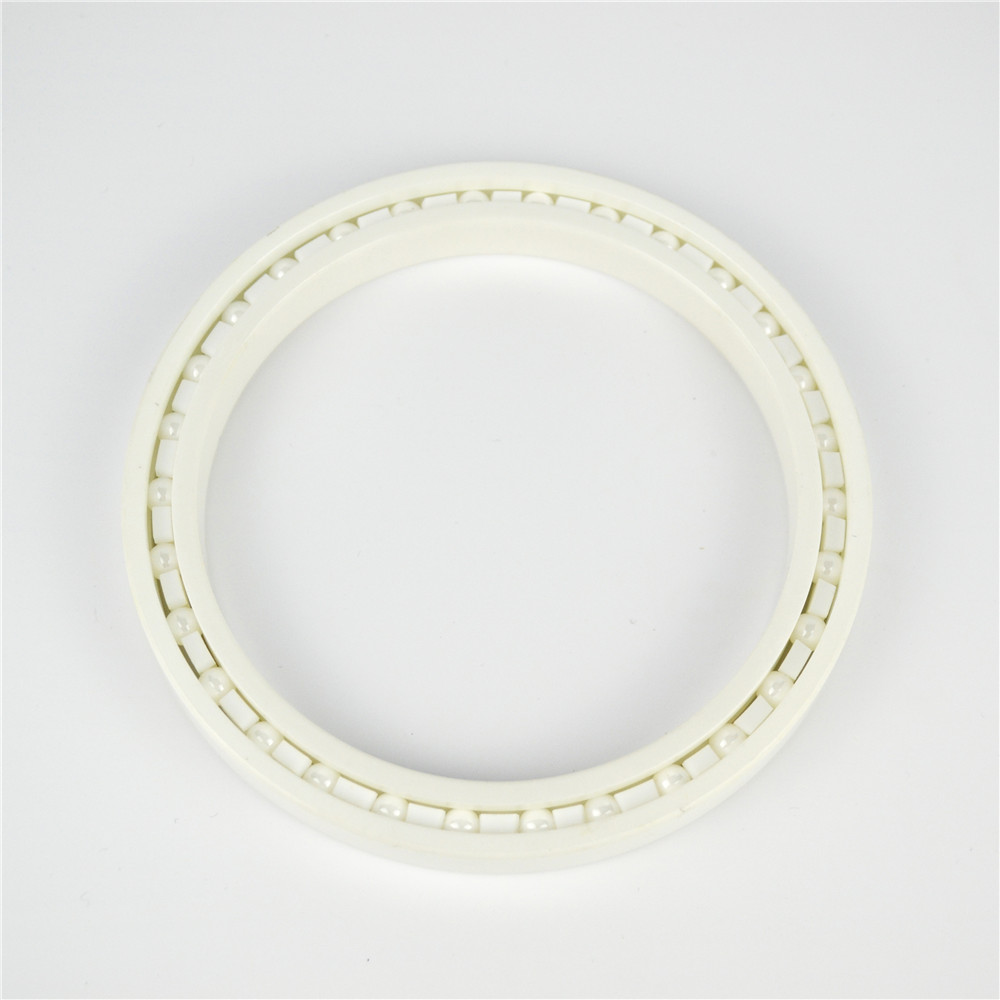 Zirconia ceramic ball bearing 6819 with high speed high temperature resistance and low coefficient friction