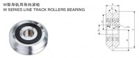 W profile track roller bearing