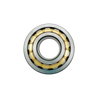 Special brass cage single row shock absorber Cylindrical Roller Bearing load calculation