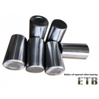 Rollers of tapered rollers bearing