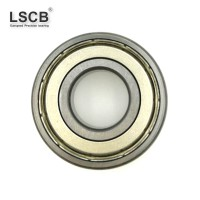 6000 open and sealed deep groove ball bearing in high quality chrome steel stainless steel
