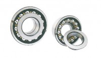 Double inner ring double row angular contact ball bearing